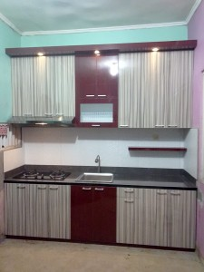 Kitchenset Bu Rini Metro Cilegon